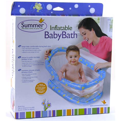 inflatable infant bathtub summer infant inflatable baby bath from summer infant wwsm