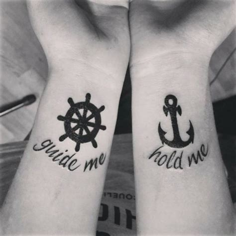 tattoo couple phrases 30 couple tattoo ideas perfect fit symbols and wheels