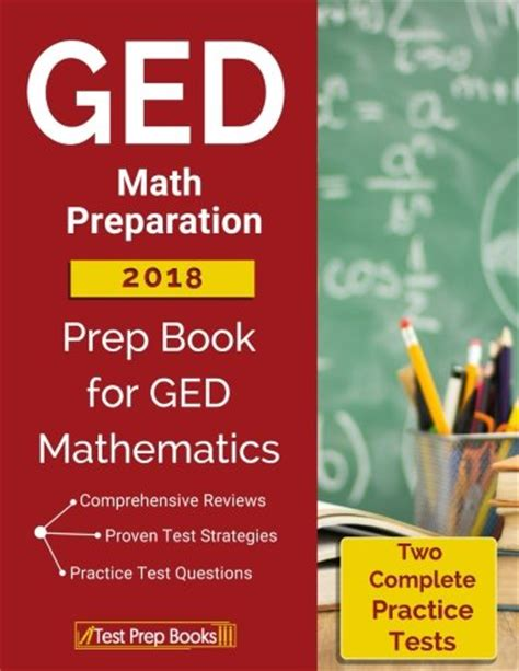 ged test prep plus 2018 2 practice tests proven strategies kaplan test prep books cheapest copy of ged math preparation 2018 prep book