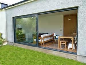 Patio Doors Scotland Panoramic Patio Slider In Edinburgh Scottish Bifold Doors