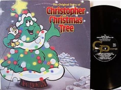 christopher the christmas tree vinyl lp record poster