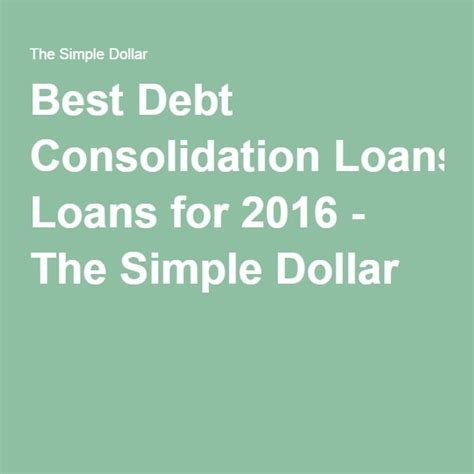 the 25 best loan consolidation companies ideas on