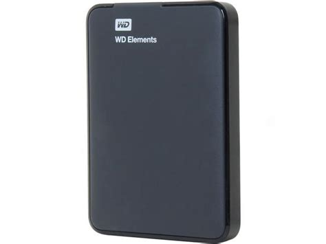 Harddisk Wd Element 1tb wd 1tb elements portable external drive usb 3 0 wdbuzg0010bbk nesn newegg