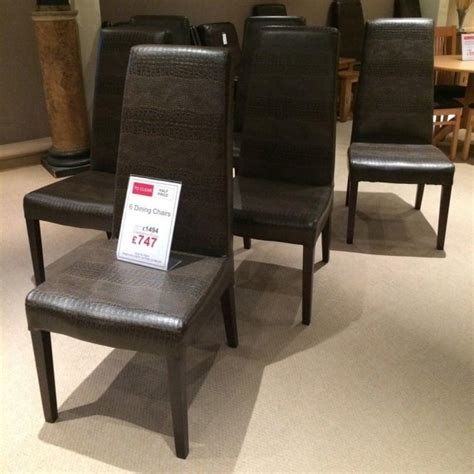 dining chair clearance 6 crocodile skin style dining chairs clearance