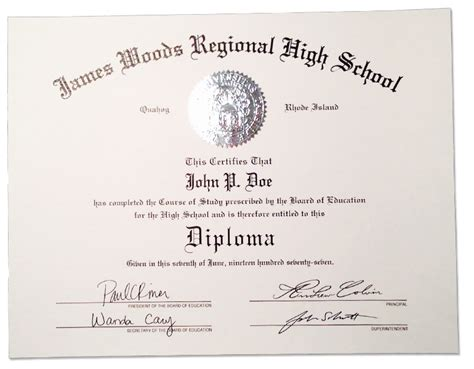 high school diploma certificate template high school diplomas certificates