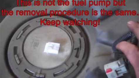 how to remove fuel pump 2004 dodge grand caravan fuel pump replacement dodge durango 2012 awd part 2 install remove replace youtube