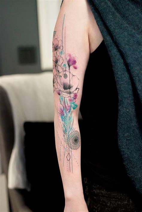 watercolor tattoo leipzig marta lipinski inkspiration world