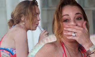 Lindsay Lohan Named In Divorce Papers Of Heiress by Lindsay Lohan Shows Mysterious Ring On