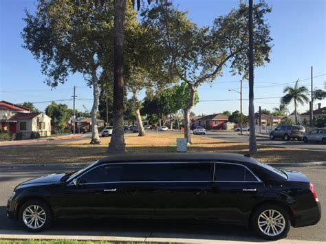 Chrysler 300 For Sale In Los Angeles by Limo Services Los Angeles American Limousine Service