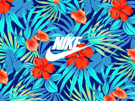 hawaiian pattern iphone wallpaper nike hawaiian solarsoft moc sp footpatrol tropical