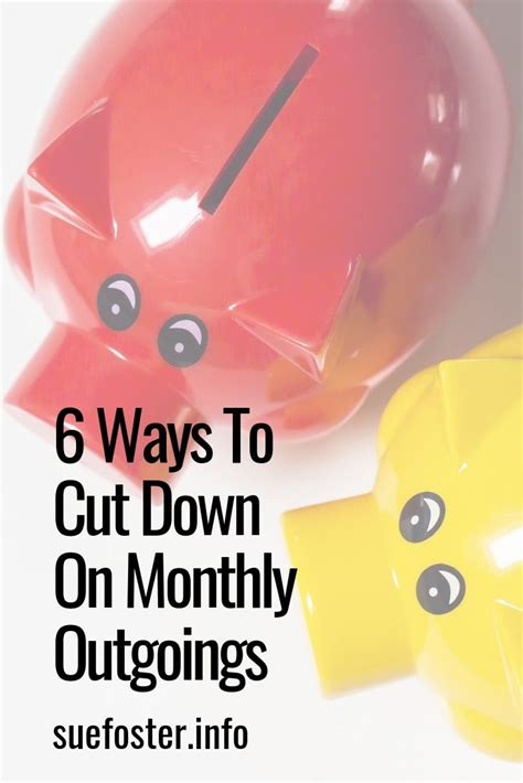 ways cut monthly outgoings top bloggers