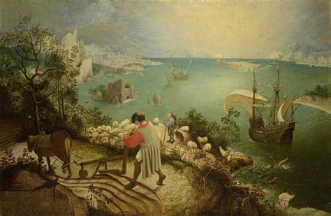 Landscape With The Fall Of Icarus Bruegel Unseen Masterpieces