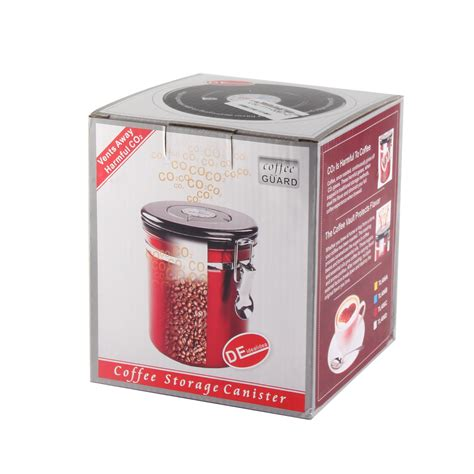 Bean Sealer 16oz coffee canister airtight stainless steel vacuum seal storage bean container ebay