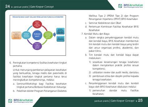 Buku Panduan Praktis Seminar buku panduan praktis bpjs kesehatan gate keeper concept