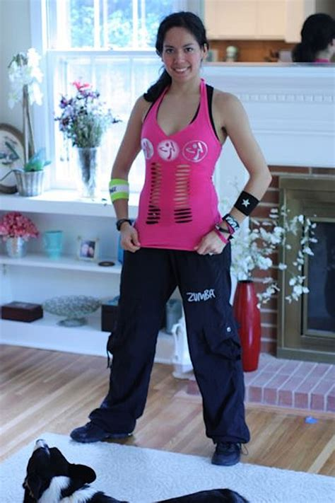 tutorial for zumba cut zumba tank top tutorial deep v neck front lines