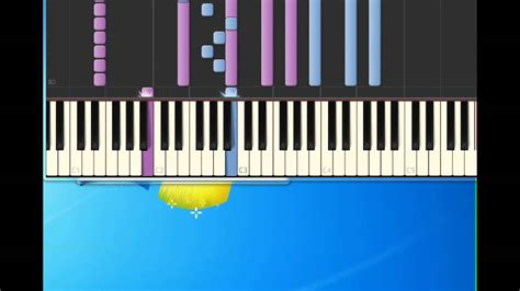 all i want tutorial piano mike the mechanics all i need is a miracle piano