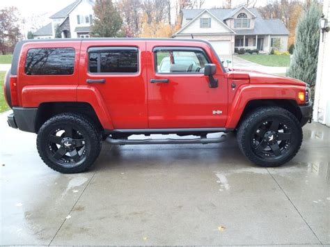 hummer with rims h3 pics with new rims and tires hummer forums