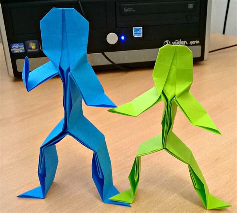 Origami Person - image gallery origami