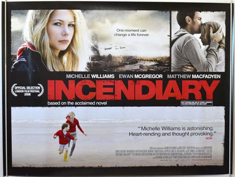 Incendiary 2008 Film Incendiary Original Cinema Movie Poster From Pastposters Com British Quad Posters And Us 1