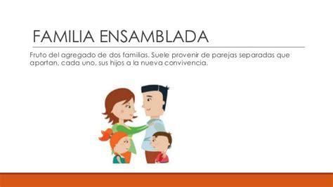 imagenes de la familia ensamblada los tipos de familia blog espa 241 ol ce1