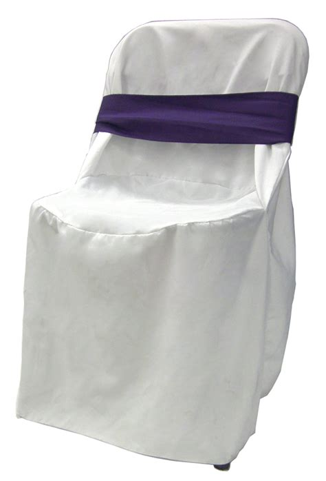 White Chair Cover Rentals For Weddings by White Linen Chair Cover Rental With Purple Bow Wedding