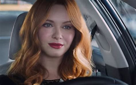 kia commercial actress christina hendricks is the girl in the kia tv commercials
