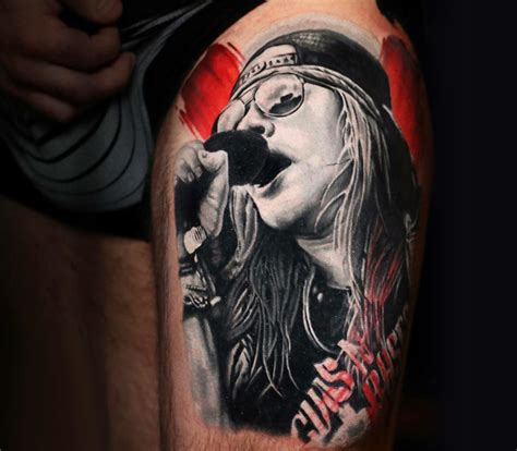 axel rose tattoo axl pictures to pin on tattooskid