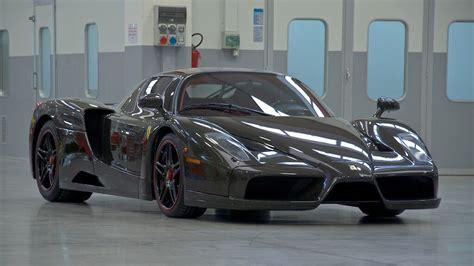 Ferrari Enzo Race Car by Exposed Carbon Fiber Ferrari Enzo Up For Sale