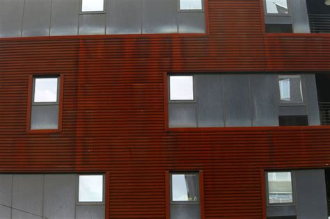 barclays salerno in new york city chic steel facades leave a fiery