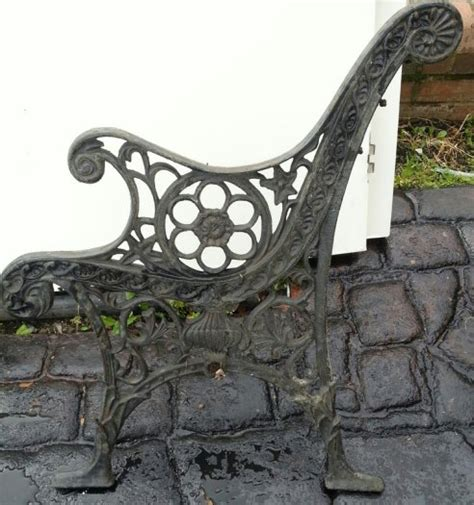 iron bench ends heavy cast iron antique bench ends for sale in crumlin