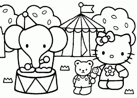 hello kitty hawaii coloring pages free coloring pages of hawaii hello kitty