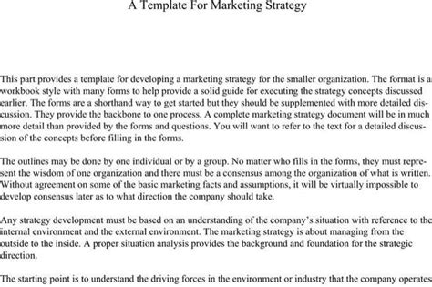 strategy paper template paper template free premium templates forms