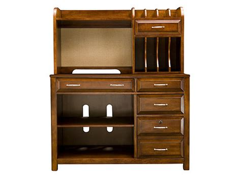 raymour and flanigan computer armoire beacon 2 pc computer credenza and hutch office desks
