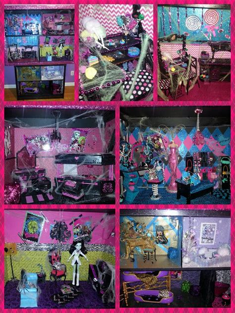 homemade monster high doll house 15 best images about monster high doll house on pinterest monster dolls barbie