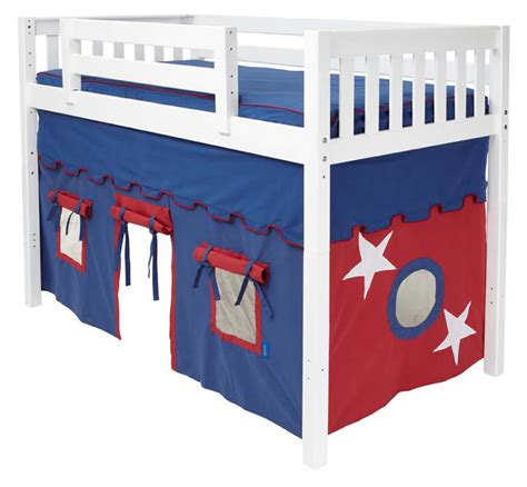 Bed With Curtains Maxtrix Kids Curtain Colors