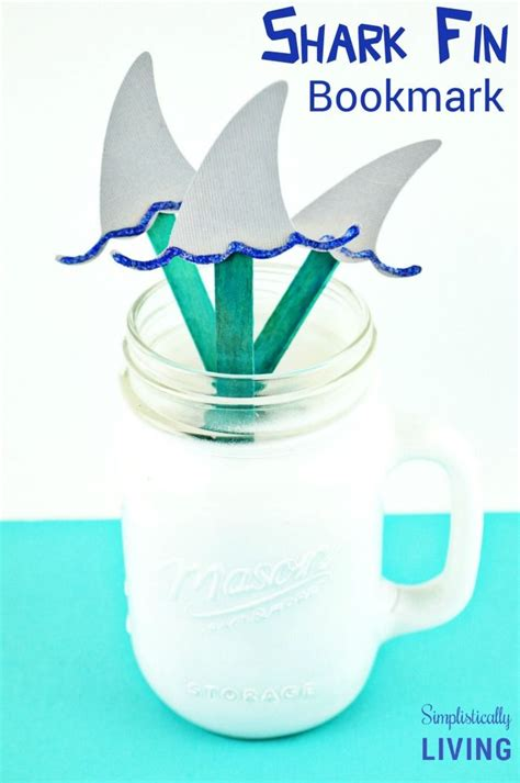 shark craft projects 17 best images about silhouette kid s crafts on