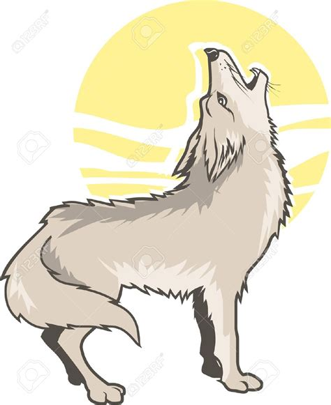 coyote clipart coyote clipart wolf howl pencil and in color coyote