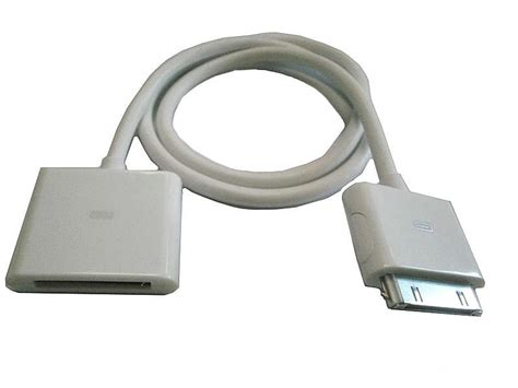 30pin Vga With Audio 1 30pin dock connector to extension cable with