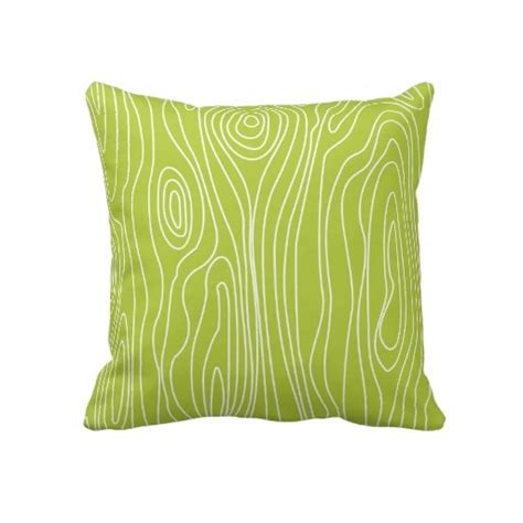 Chartreuse Pillows by Bright Chartreuse Faux Bois Pillow Lime Green Throw