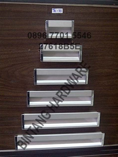 Handle Tanam Pintu Sliding Oval tarikan handle tanam lintang fittings