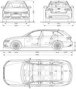 Audi A4 Size Audi A4 Avant Dimensions Images