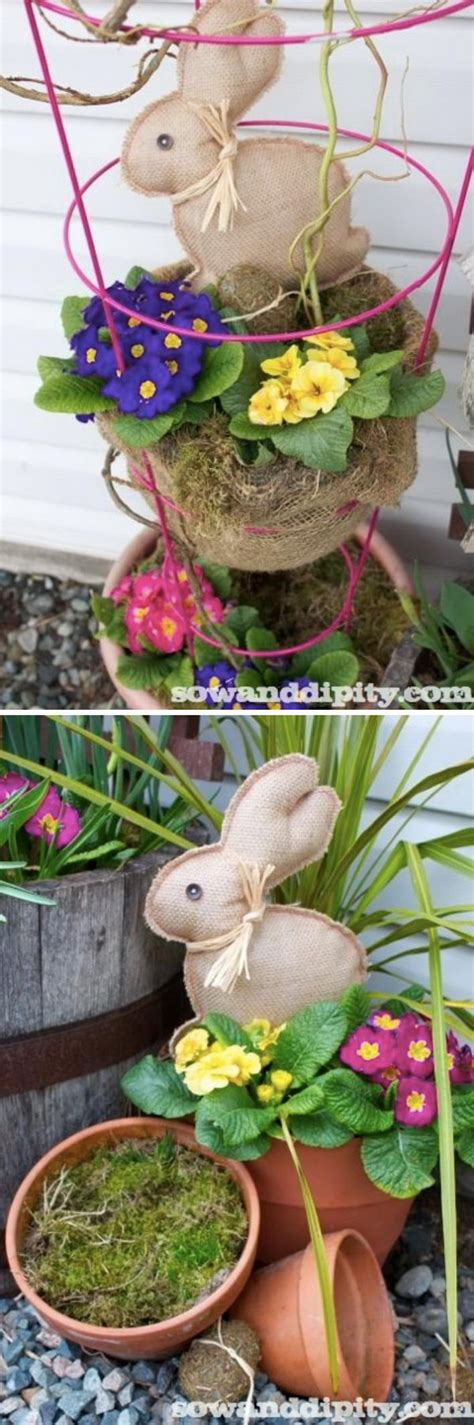 30 diy easter outdoor decorations hative