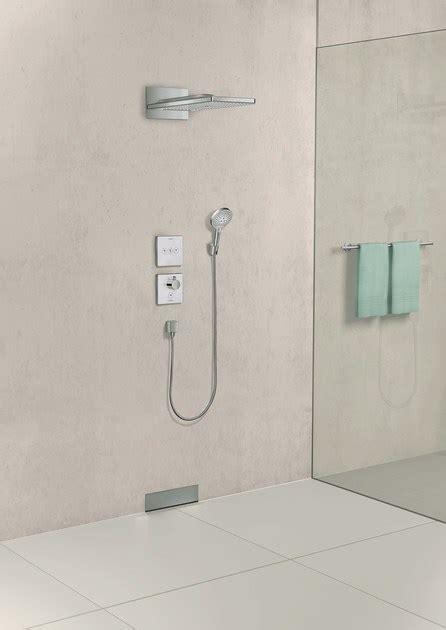 doccia hansgrohe miscelatore termostatico per doccia in vetro temperato