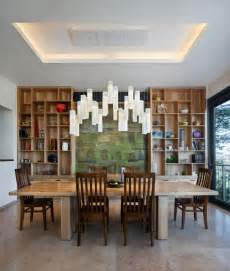 Contemporary Dining Room Chandelier by Tanzania Fused Glass Dining Room Chandelier Custom Light