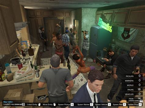 house party game trevor s house party gta5 mods com
