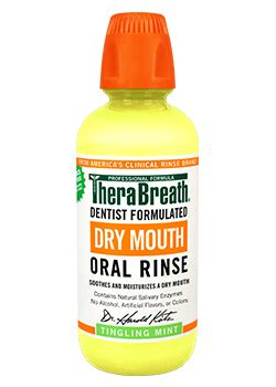 dry mouth mouthwash oral rinse therabreath