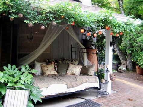 outdoor bedroom ideas 17 best images about lofts and canopies on pinterest