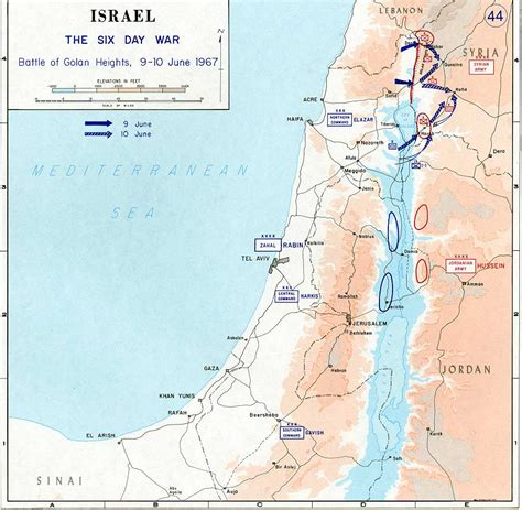 middle east map golan heights img