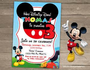 sample mickey mouse invitation template 13 download