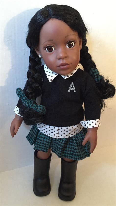 black 18 doll american doll black dolls rock 18